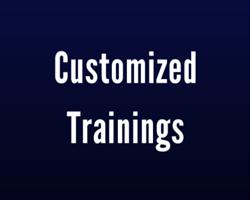 Customized Trainings