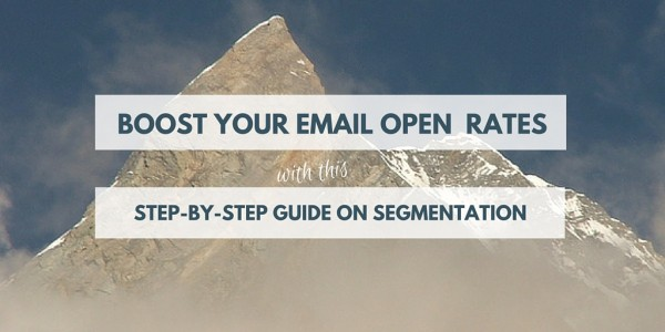 Boost email open rates with this step-by-step guide on segmentation