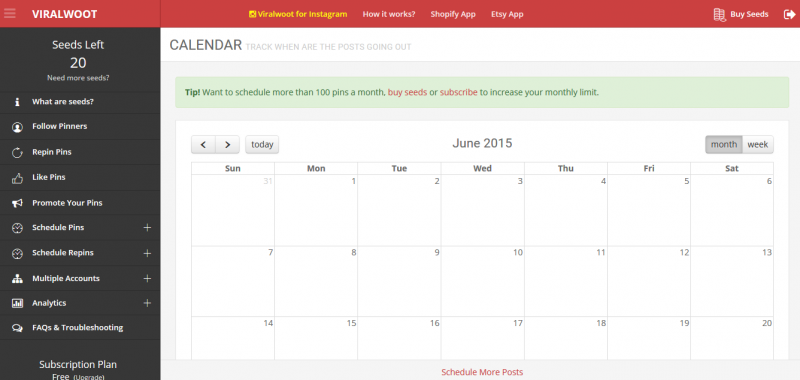 Pinterest Scheduler ViralWoot