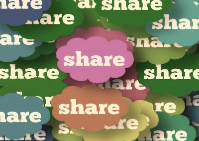 You need to encourage sharing and reduce barriers to sharing.