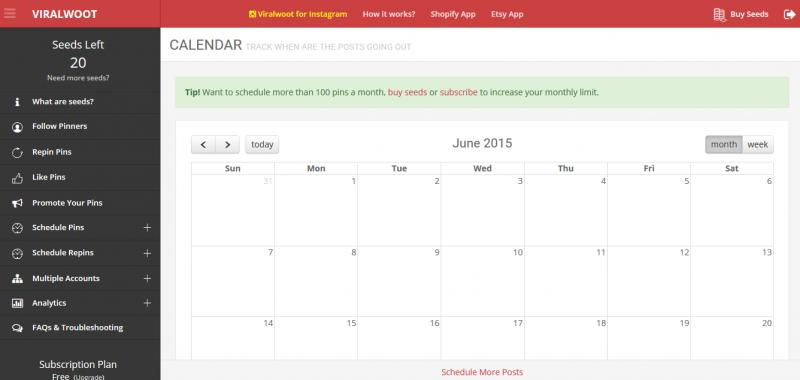 Pinterest Scheduler ViralWoot