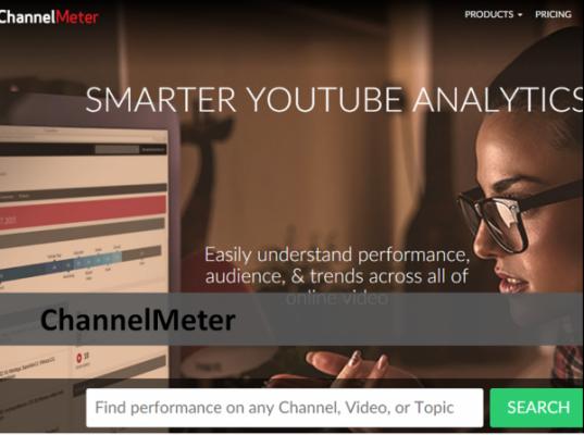 ChannelMeter YouTube Analytic Tool