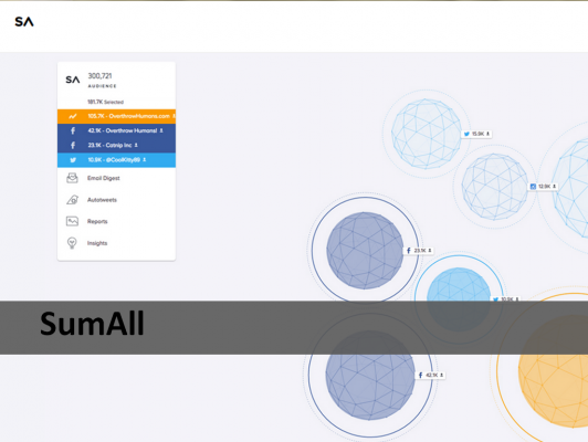 SumAll Analytic Tool