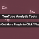 YouTube analytic tools