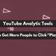 YouTube analytic tools